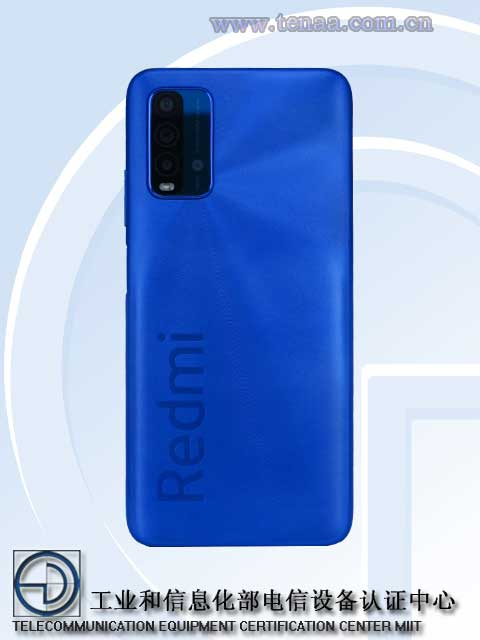 Redmi Note 9 4G Backside