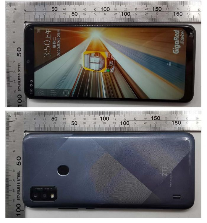 ZTE Blade A51 Front&Back