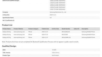 Galaxy A32 5G Bluetooth Certification