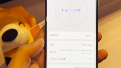 Photo of Huawei HarmoyOS 2.0 mobile phone developer Beta released, compatible with Android Apps.
