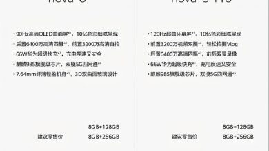 Photo of Huawei Nova 8 Series Specifications Revealed By Famous Leakster
