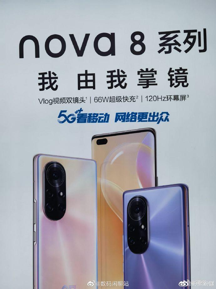 Nova8 Series Launch Poster