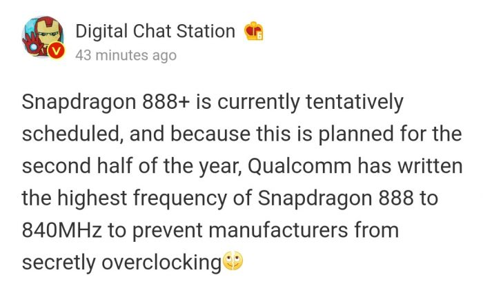 Snapdragon 888+ Launch