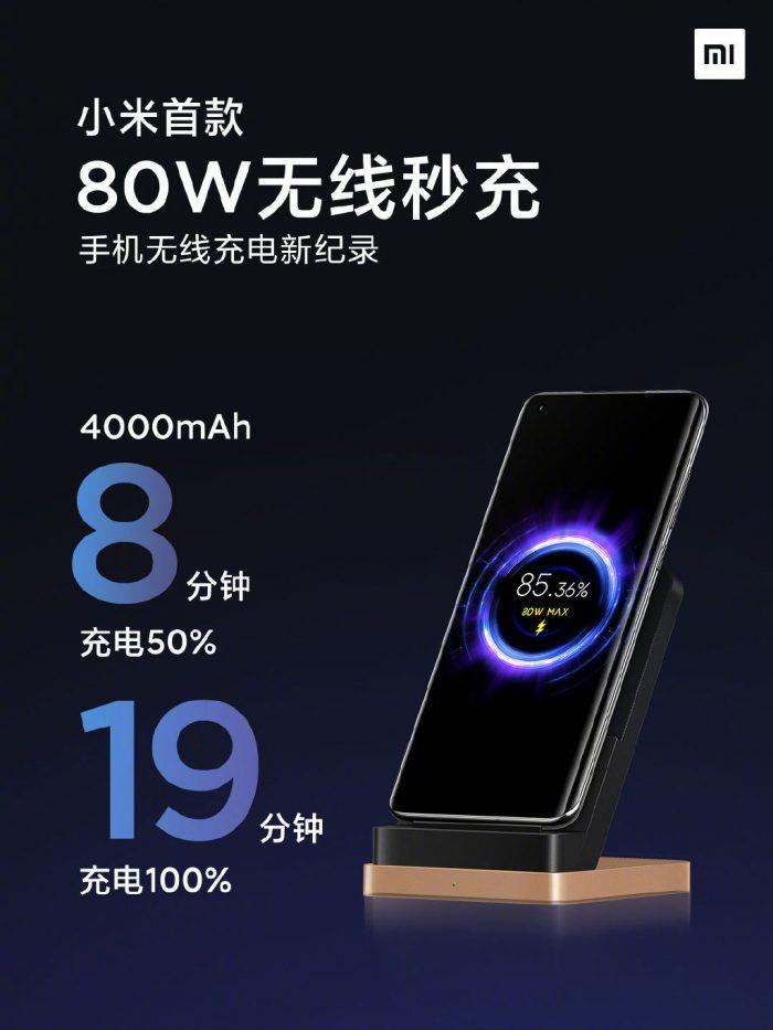 Xiaomi Mi 11 Pro may support 80W wireless charging