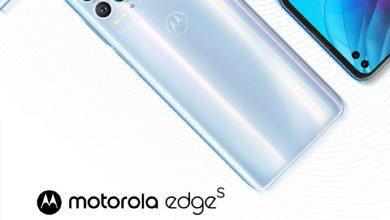 Motorola Edge S Launch Poster