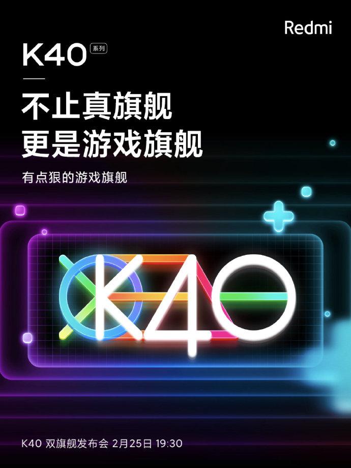Redmi K40 Gaming Flagship Phone