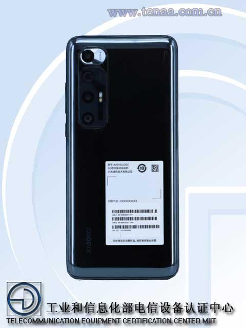 Xiaomi Mi 10 5G (2021) Back