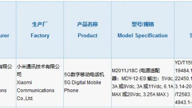 Xiaomi Mi Mix Foldable Phone Gets 3C Certification With 67W Fast Charging