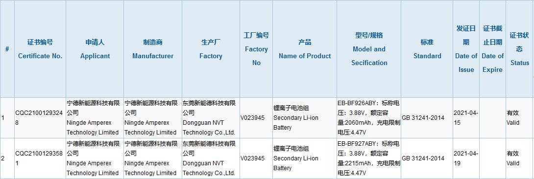 Certyfikat ujawnia nowe informacje o Galaxy Z Fold3 Samsunga