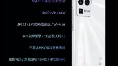 ZTE Axon 30 Ultra Specs
