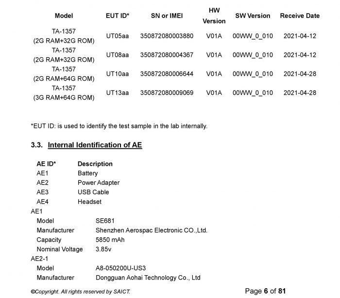 Nokia C30 Specs