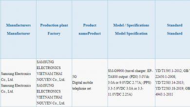 SM-G9900 3C Certification