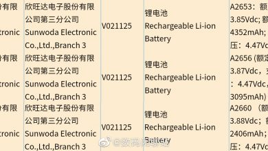 iPhone 13 Series Batteries 3C Certification