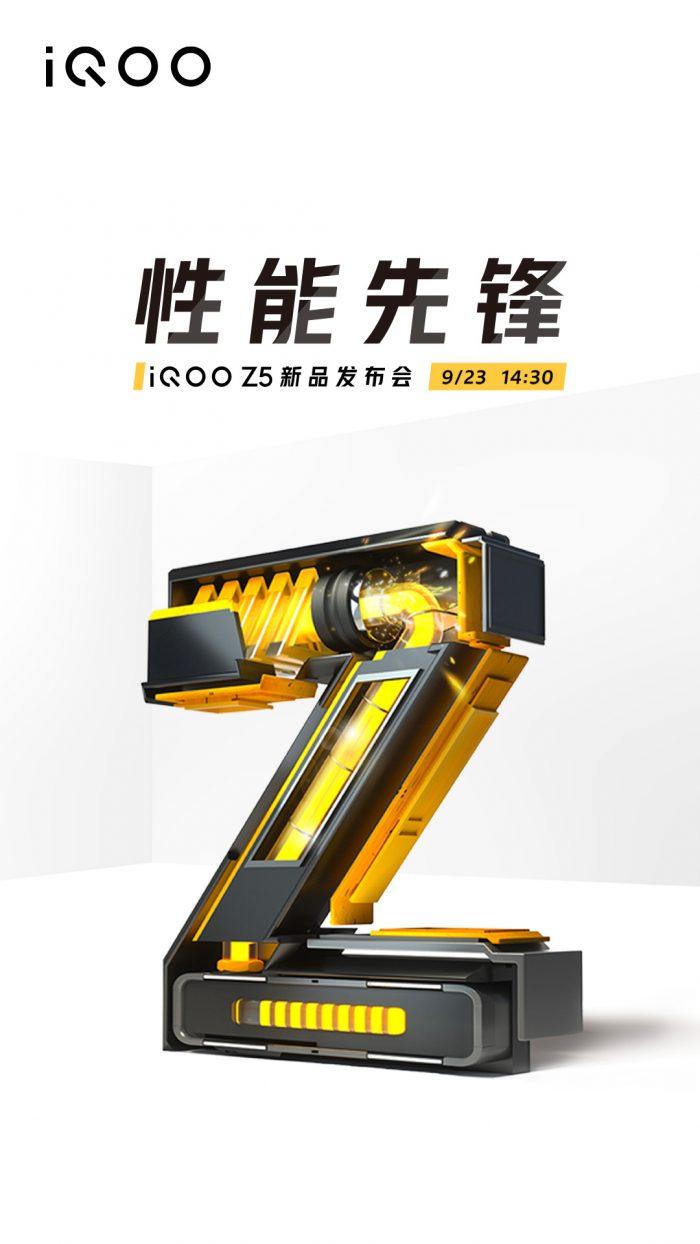 iQOO Z5 Launch Poster